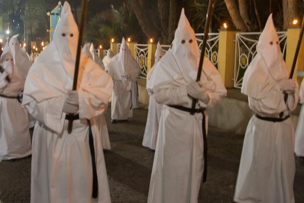 The White Parade in Sorrento, Italy