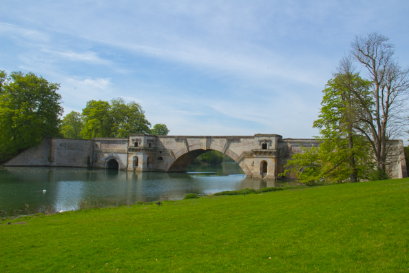 The Grand Bridge at Blenheim Palace
