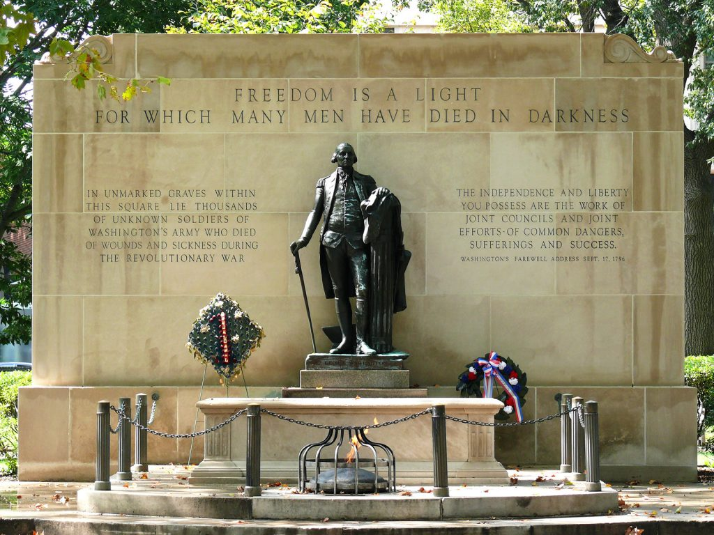 Tomb of the Unknown Revolutionary War Soldier