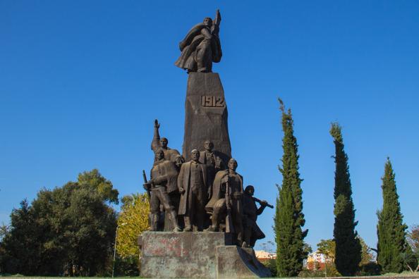 Freedom Memorial in Flag Square Vlore