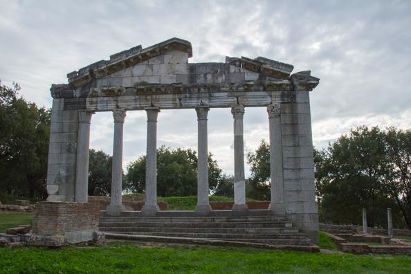 Ancient Roman site of Apollonia in Albania