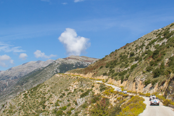 Jeep safari to Piluri above Himara in Albania