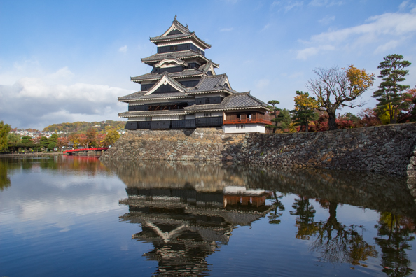 Matsumoto Castle or the Black Crow in Matsumoto, Japan