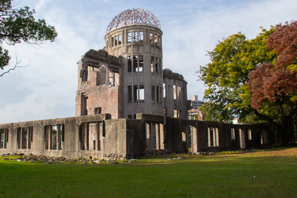 The Atomic Dome in Hiroshima, Japan