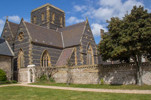 Saint Augustine's Church in Ramsgate, Kent