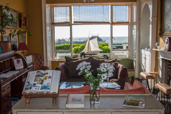 Sitting room in the Royal Harbour Hotel, Ramsgate, Kent