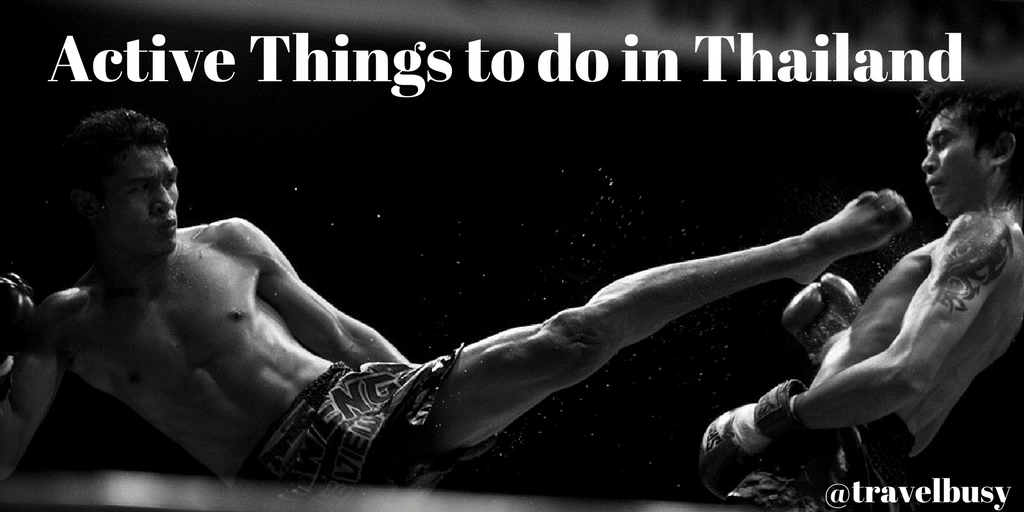 Sports activities to do in thailand
