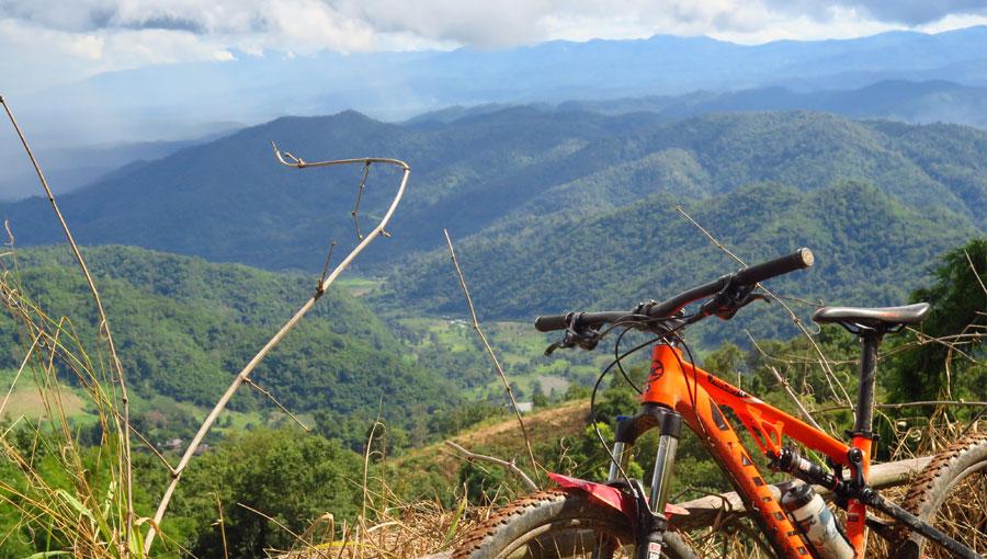 mountain biking in thailand and MTB tours