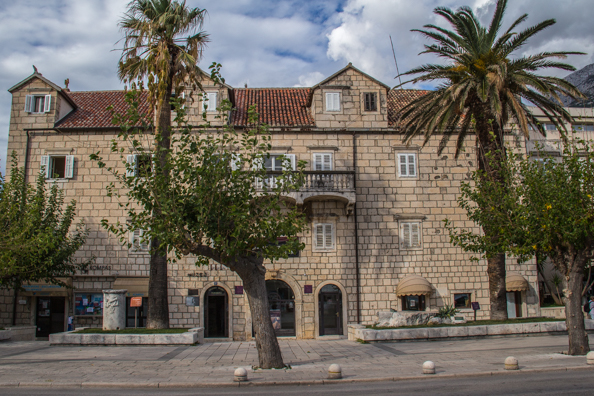 Town Museum in the Palazzo Tonoli in Markarska in Croatia